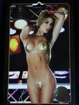 Sexy conjunto de cuero